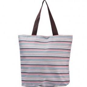 Эко-сумка средняя Цветные полосы