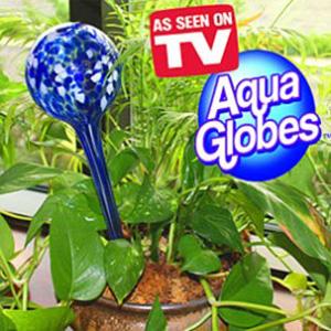 Колбы-автолейки для полива цветов Aqua Globes