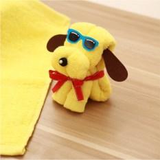 Подарочное полотенце Собака в очках