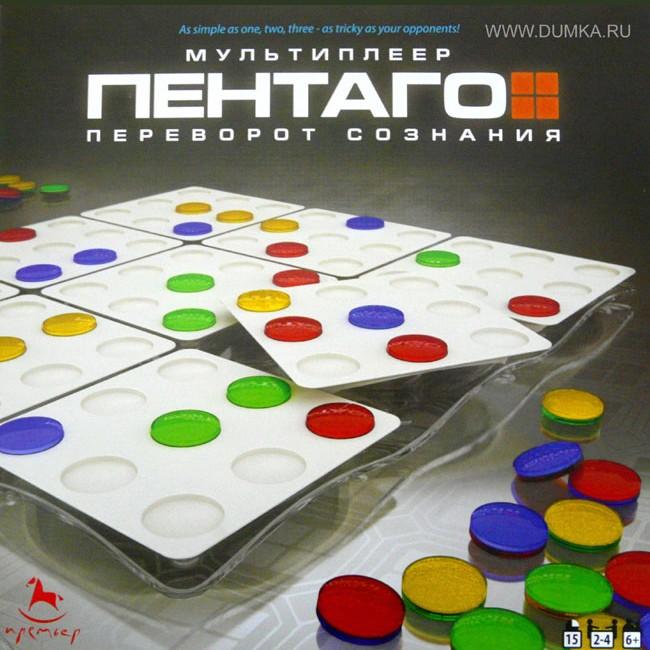 Настольная игра Пентаго (мультиплейер)