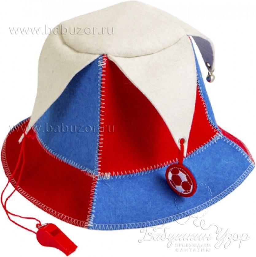 Банная шапка Болельщик