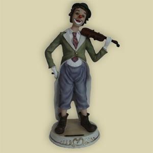 Статуэтка «Клоун со скрипкой»