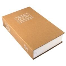 Коричневая книга-сейф Английский словарь