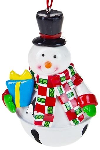 Новогодняя фигурка Снеговичок