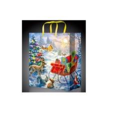 Пакет для новогодних подарков