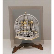 Картина Храм Василия Блаженного (21,5х25,5 см)