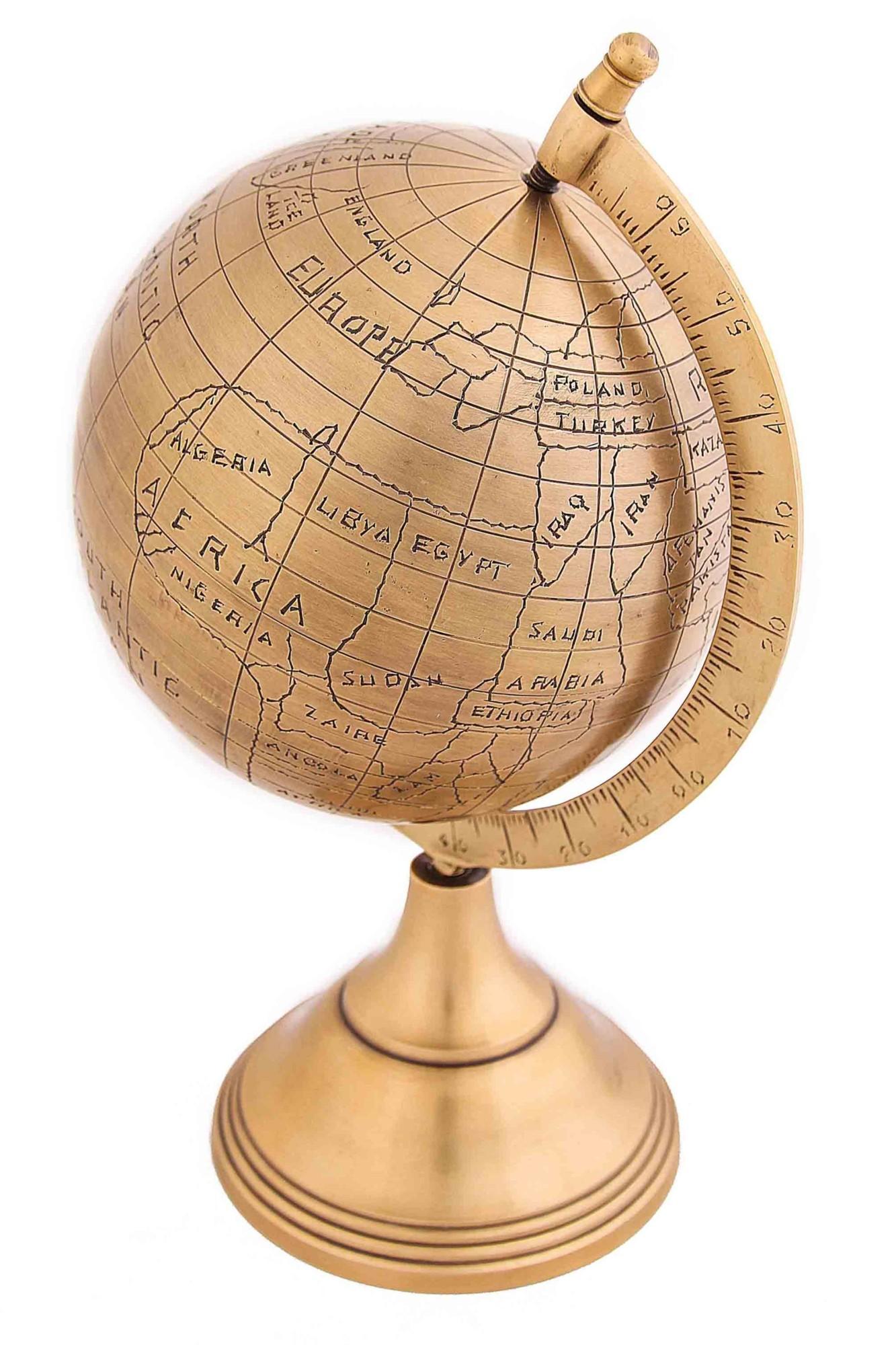 Настольный декоративный глобус