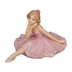 Фарфоровая статуэтка балерина, высота 8,4 см