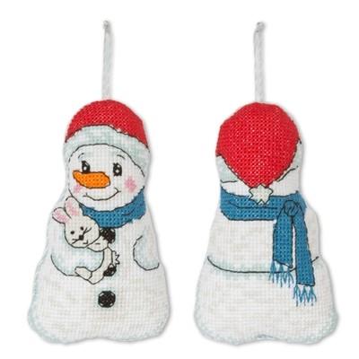 Набор для вышивания Игрушка. Снеговик