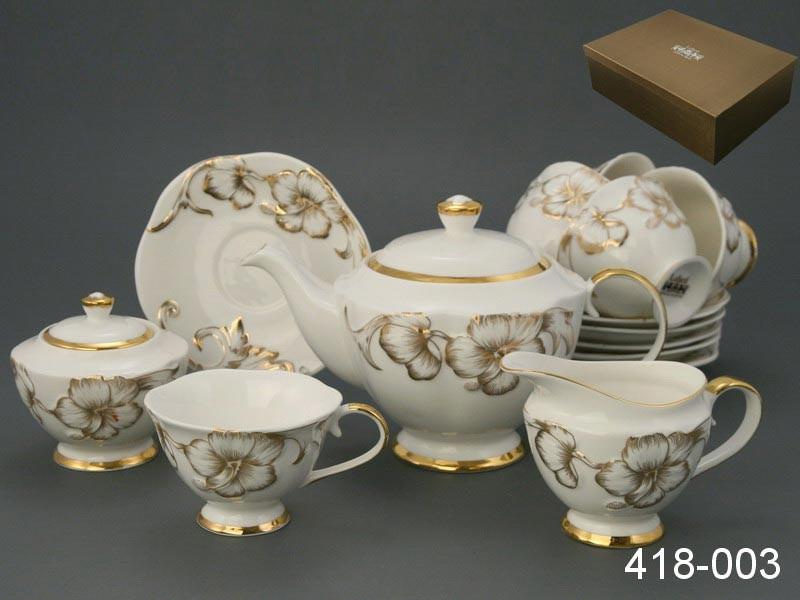 Чайный сервиз на 6 персон 15пр. софия