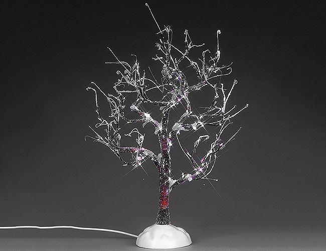 Новогодняя фигурка Заледеневшее Дерево светящееся