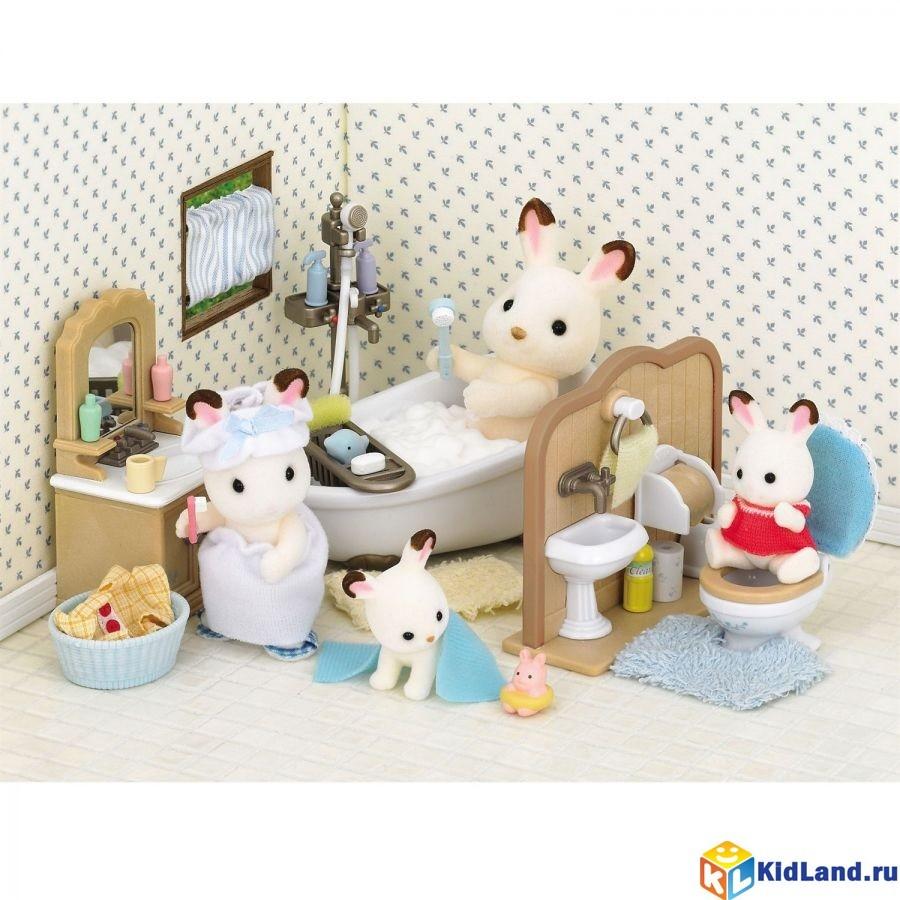 Набор Ванная комната Sylvanian families