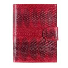Красная обложка для документов