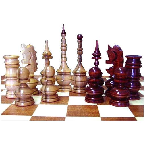 Шахматы «Лакированный клён», массив клёна