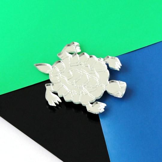 Брошь Turtle