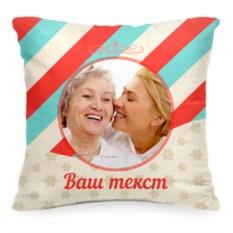 Подушка с фото «Ленты»