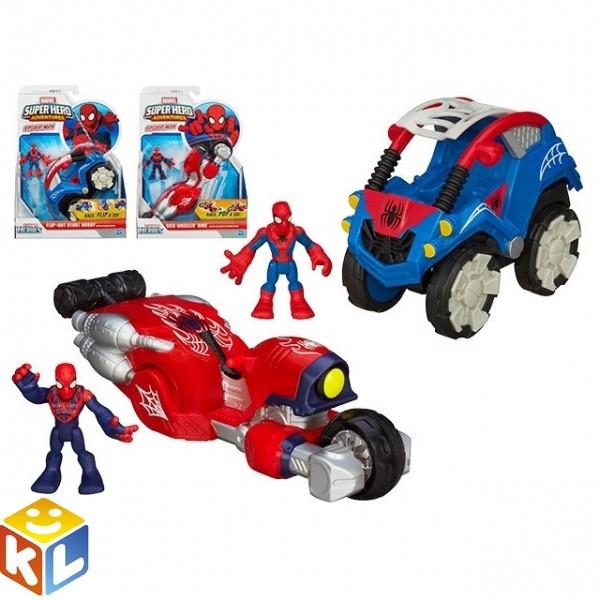 Игрушки Фигурка и машина человека-паука
