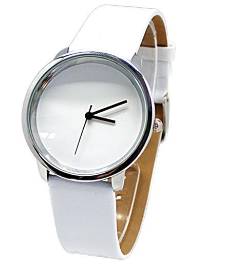 Белые часы Eco