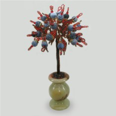 Дерево процветания из африканского агата