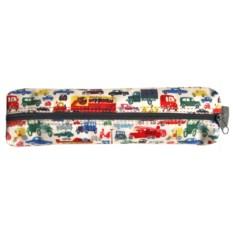 Текстильный пенал-тубус Машинки