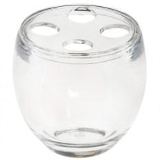 Прозрачная подставка для зубных щеток Droplet