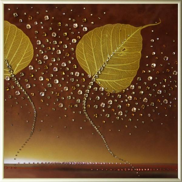 Картина Swarovski Осень