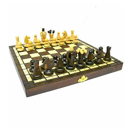 Шахматы деревянные «Маленький король»