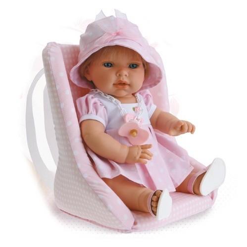 Кукла Эли в кресле