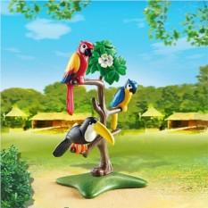 Конструктор Playmobil City Life Zoo Тропические птицы