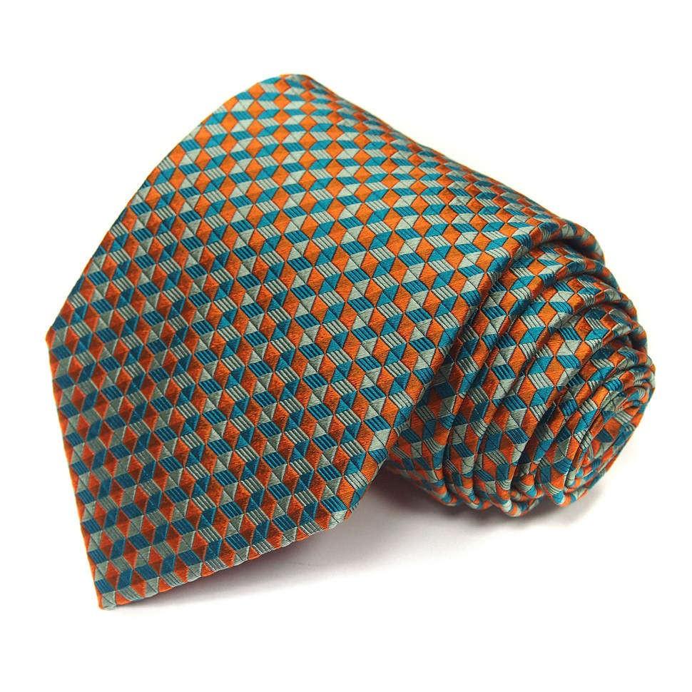 Мужской галстук с геометрическим рисунком Christian Lacroix