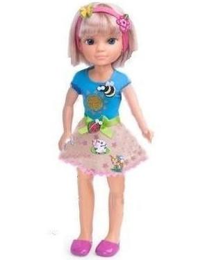 Кукла Нэнси (Nancy) с бабочкой, наклейками Famosa