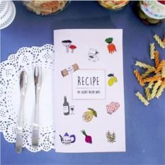 Блокнот для кулинарных рецептов My Secret