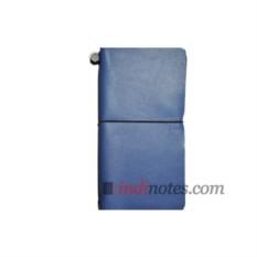 Кожаный ежедневник Road Diary Blue