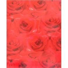 Красная подарочная бумага