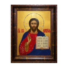 Картина Swarovski Икона Господь Вседержитель