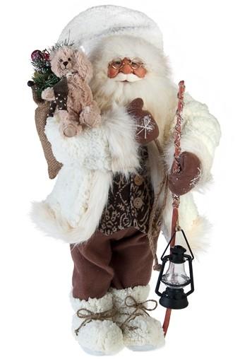 Новогодняя статуэтка Дед Мороз с подарками