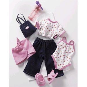 Летний гардероб для куклы