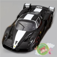 Радиоуправляемый черный автомобиль Ferrari FXX