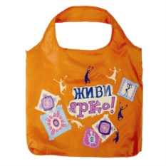 Складная сумка Живи ярко