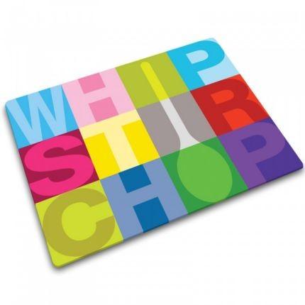 Разделочная доска whip stir chop