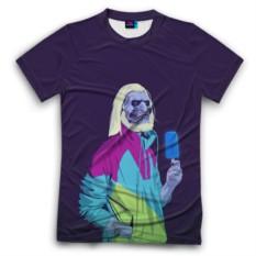 Мужская футболка 3D с полной запечаткой White walker