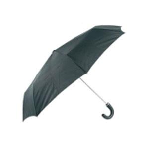 Зонт механический с кожаной ручкой