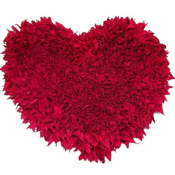 Коврик прикроватный «Сердце»