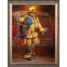 Портрет пожарнику