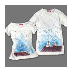 Парные футболки Крыша мира
