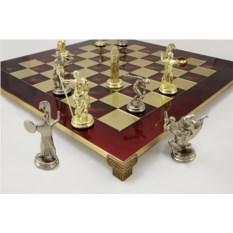 Красный шахматный набор Олимпийские Игры