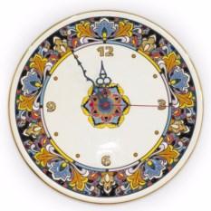 Керамические круглые часы