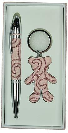 Подарочный набор Мишка, розовый