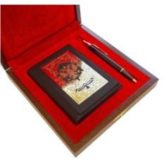 Подарочный набор Обложки на документы и ручка Parker