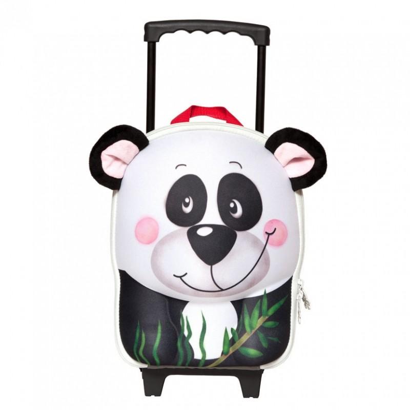 Чемодан-тележка Панда